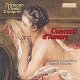 rv 53 - Telemann, G.P.: Concertos, Twv 53:E1, Twv 51:A2 / Vivaldi, A.: Viola D'Amore Concerto, Rv 392 / Graupner, C.: Concerto, Gwv 333 (Il Gardellino)