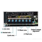 inShareplus 12V 10A 120W, DC Universal Regulated