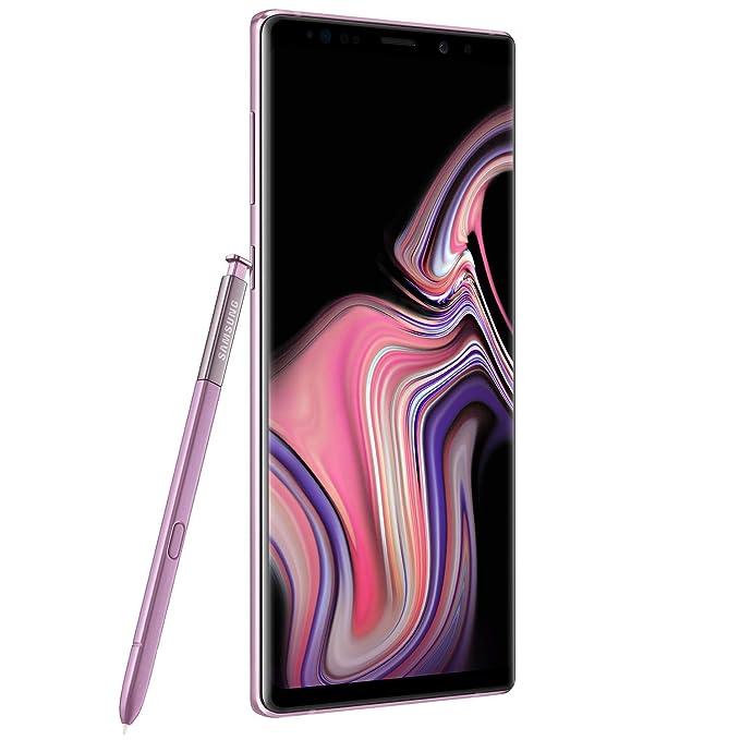 Samsung - Galaxy Note 9 128GB - Lavender Purple - US Warranty (Verizon)  (Renewed)