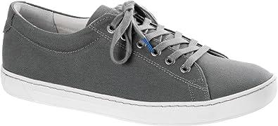 ac27c504413 Birkenstock Women s Arran Grey Canvas Sneaker 36 (US Women s ...