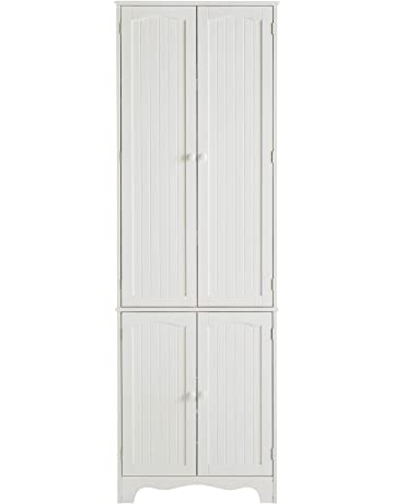 Awesome White Storage Cabinets With Doors Collection