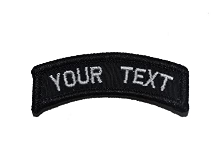 Amazon.com  Customizable Text Tab Patch w Hook Fastener Morale Patch ... 38d6e60a7a8
