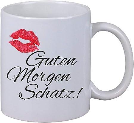 Netspares 119310172 Kaffee Tasseguten Morgen Schatz Kuss