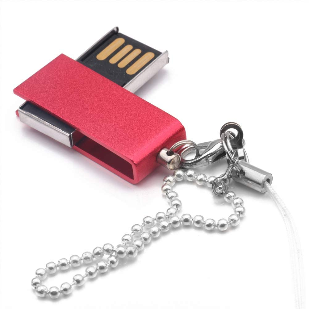 FAgdsyigao 4GB 8GB 16GB 32GB 64GB Necklace U Disk USB Flash Drive Memory Stick for PC Computer Blue 1g