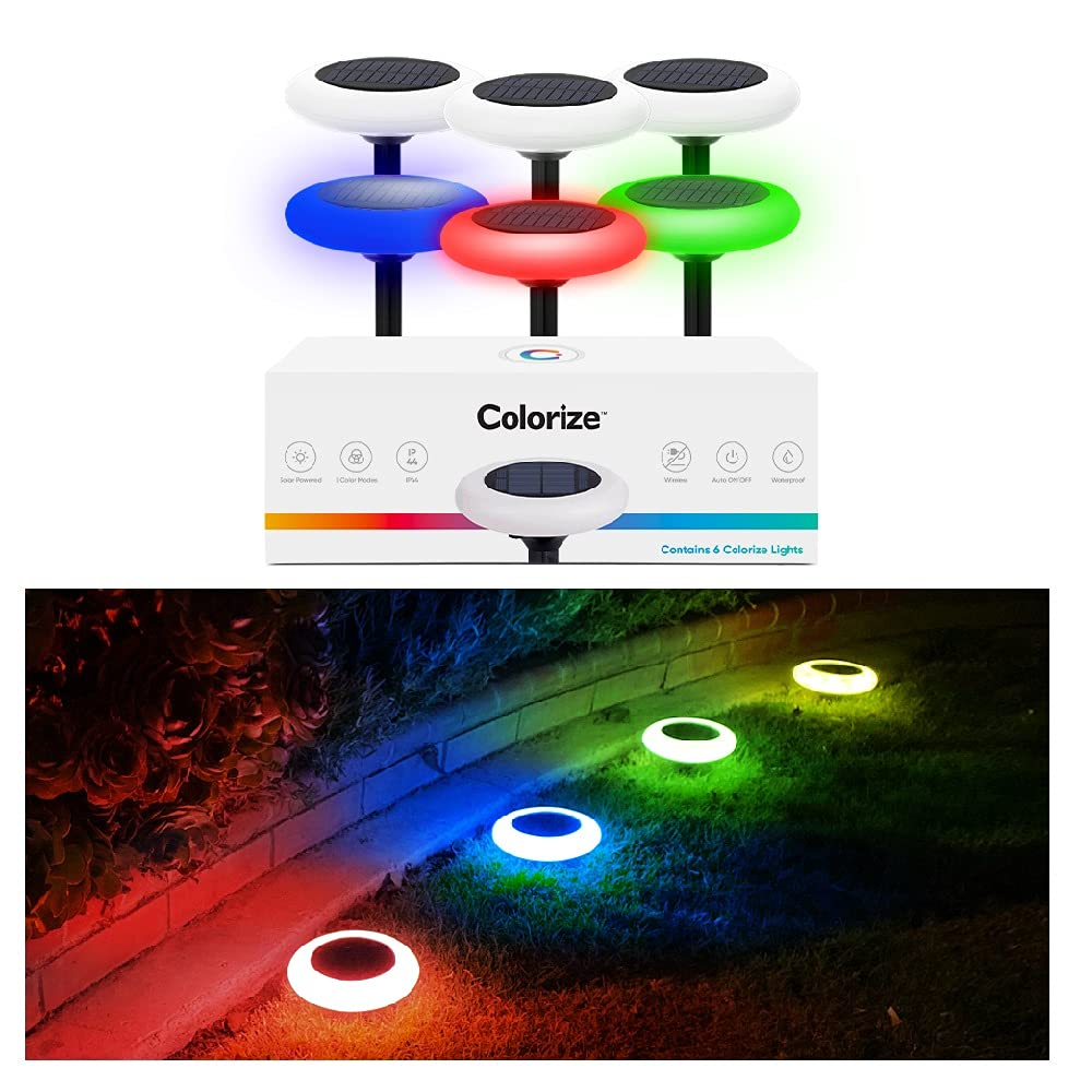 Colorize Colorful Pathway Solar Light