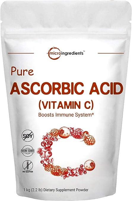 Micro Ingredients Pure Ascorbic Acid Powder