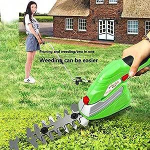 Juego de tijeras de podar con batería de 3,6 V, cuchilla de hierba ...