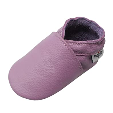 fc50555911476 Mejale Chaussons Cuir Souple Chaussures Cuir Souple Chaussons enfants  pantoufles Chaussures Premiers Pas
