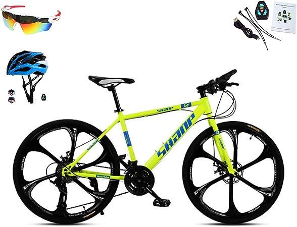 AI-QX Bicicleta de montaña Hardtail de 26