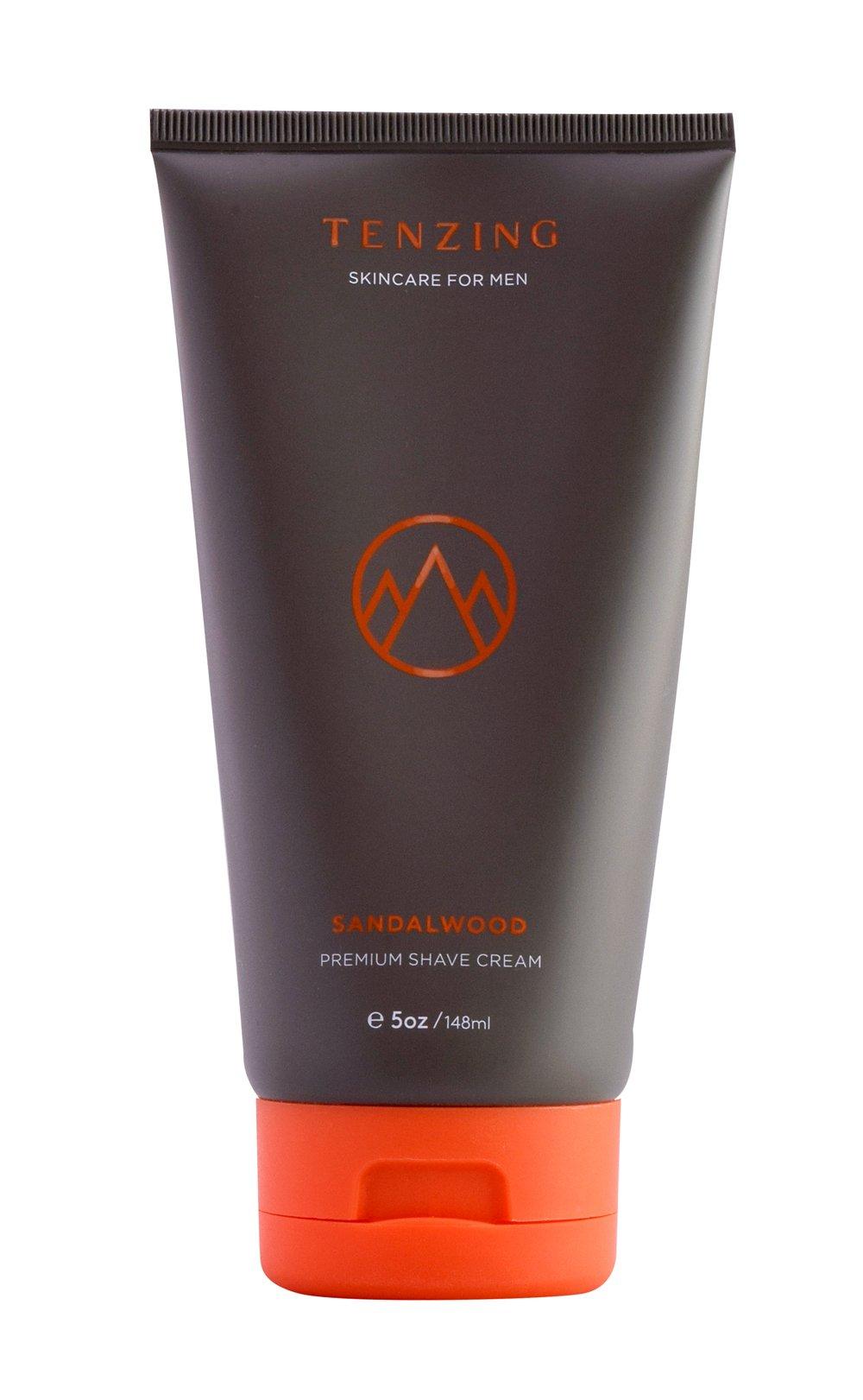 Tenzing Skincare- Sandalwood Shave Cream (Sandalwood)