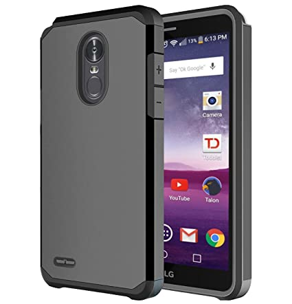 LG Stylo 3 Case, LG Stylo 3 Plus Case, OEAGO Hybrid Shockproof Drop Protection