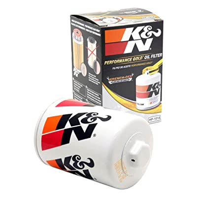K&N Premium Oil Filter: Designed to Protect your Engine: Fits Select JAGUAR/LAND ROVER/LINCOLN/FORD Vehicle Models (See Product Description for Full List of Compatible Vehicles), HP-1014: Automotive