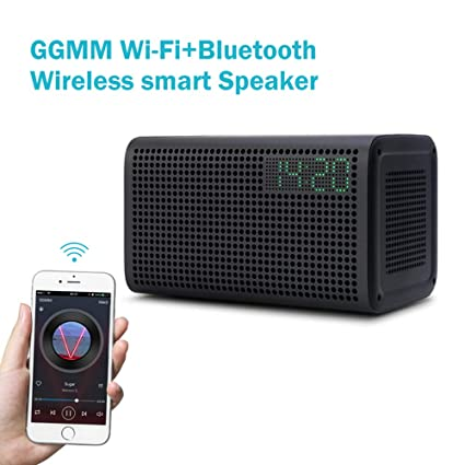 HUIGE Bluetooth Columna inalámbrica Bluetooth Altavoz WiFi ...