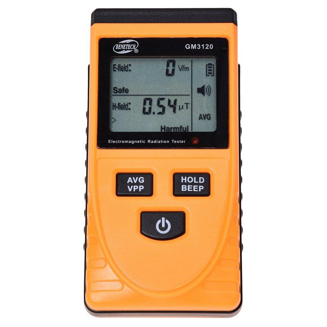 SODIAL GM3120 testeur dosimetre compteur numerique , detecteur de rayonnement electromagnetique