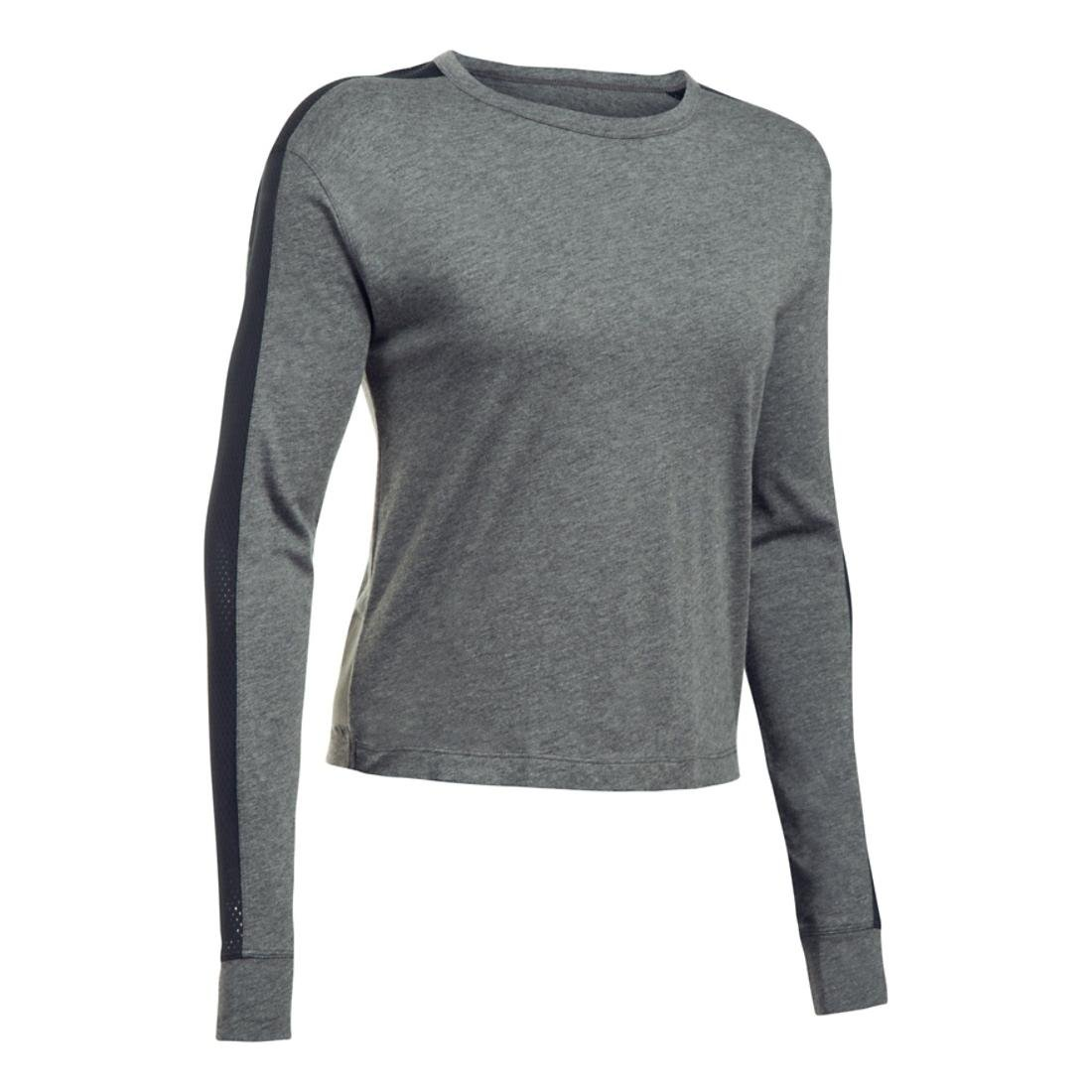Under Armour Womens Favorite Mesh Graphic Long Sleeve Top Under Armour Apparel 1308216