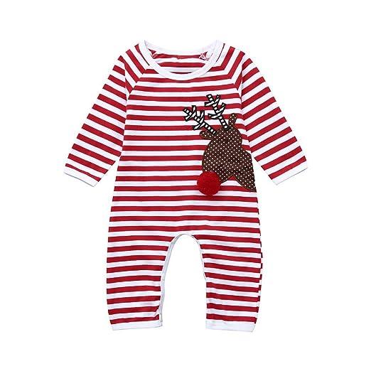 d75c26f3d97b Amazon.com  Christmas Deals!Newborn Infant Baby Xmas Romper ...