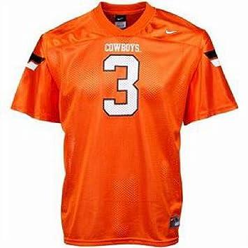 Nike Oklahoma State Cowboys Boy camiseta de fútbol Jersey, Niños Infantil, naranja