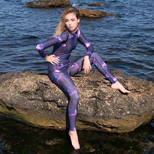 Scubadonkey Night Dip 3mm Neoprene Women s Wetsuit