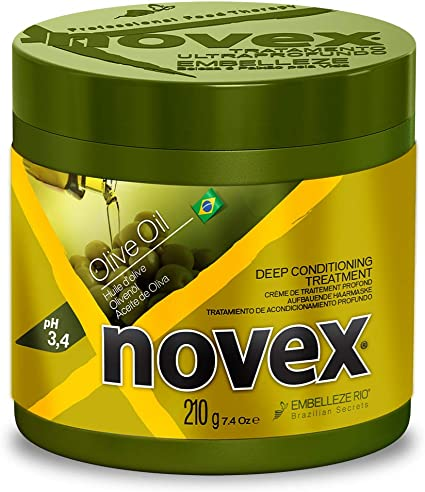 Novex Olive Oil Hair Mask 210 G Amazon Co Uk Beauty