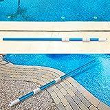 BLIKA 16.5FT Blue Aluminum Telescopic Swimming Pool