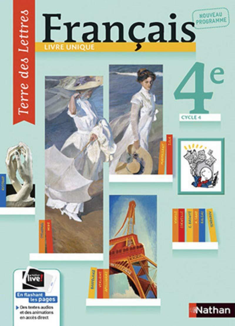 Terre Des Lettres 4e Amazon Fr Anne Christine Denechere