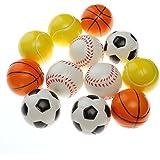 TOYMYTOY Bolas de deportes de espuma suave pelota de juego de interior al  aire libre para 0ad3a4a5500bd