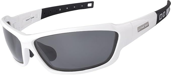 Limar Erwachsene Radsport Brille F70, Weiß, AF70PO.CE.SB