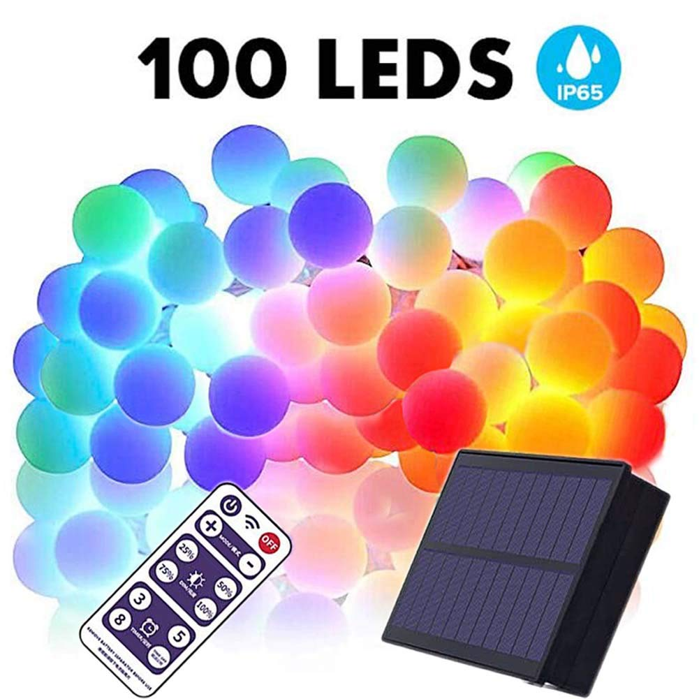 Amazing Solar LED Colored Lights!
