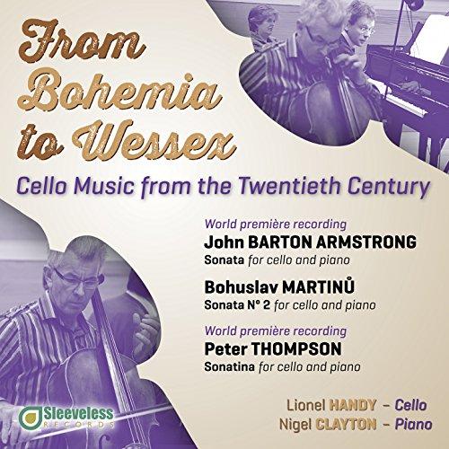 Amazon.com: Martinu, Sonata No. 2 for Cello and Piano