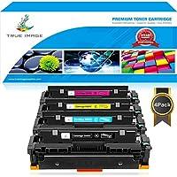 TRUE IMAGE 4 Pack Compatible Canon Cartridge 046 046h CRG...