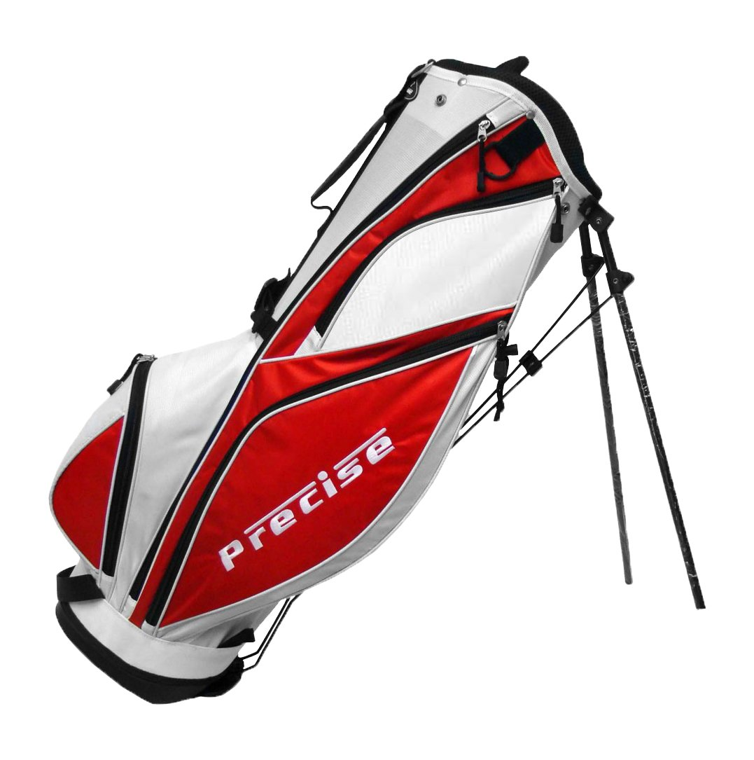 Precise MDX II Golf Stand Bag, Red