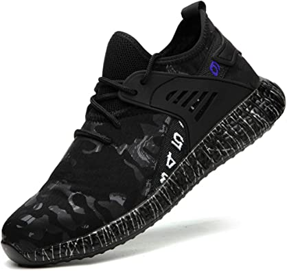 Men Shoe Mens Shoes Steel Toe Sneakers