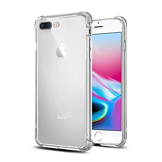 Amazon.com: Pasnity - Funda para iPhone 8 Plus, iPhone 7 ...