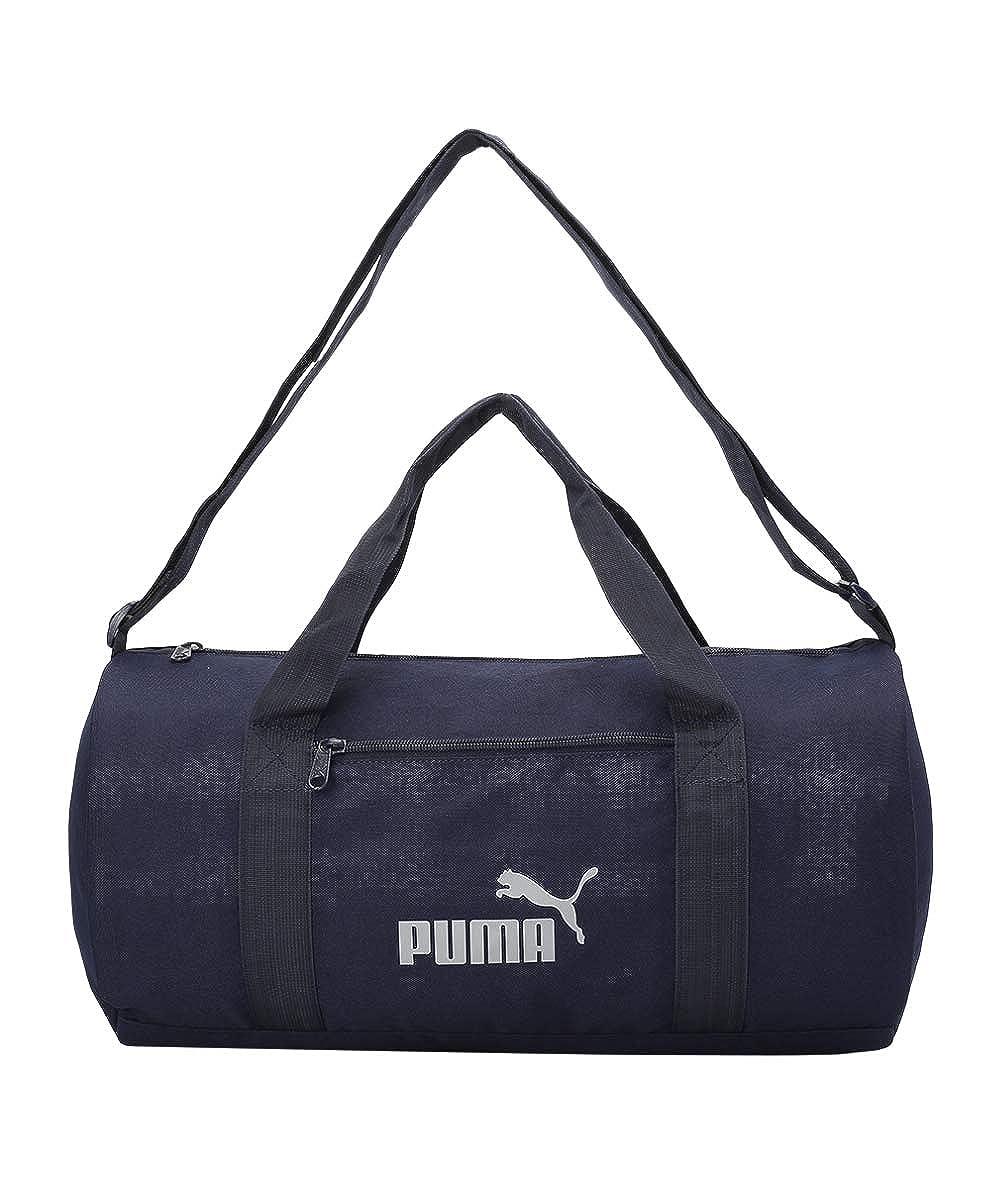 PUMA Gym Bag IND III Peacoat-Reflective logo