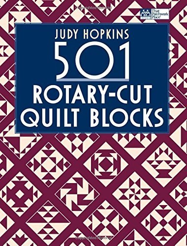 501 Quilt Blocks (501 Rotary-cut Quilt Blocks (That Patchwork Place) by Judy Hopkins (2008-10-01))