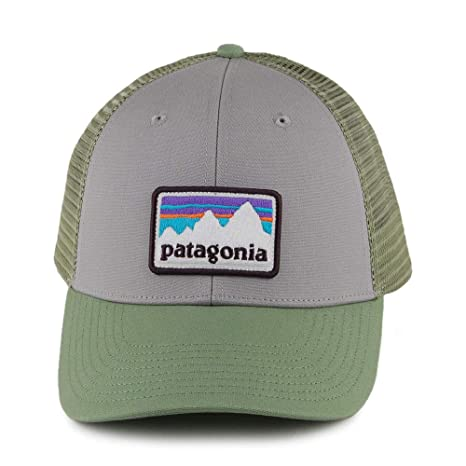 Patagonia Shop Sticker Patch LoPro Trucker Hat Gorra, Unisex Adulto, Drifter Grey w/Matcha Green, Talla Única: Amazon.es: Deportes y aire libre