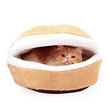 Jian E -/ Nido para mascotas - Casa para gatos de la perrera para gatos Casa de ...