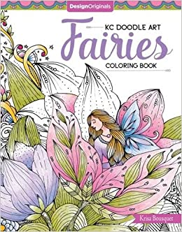 Buy KC Doodle Art Fairies Coloring Book Book Online at Low Prices in ...