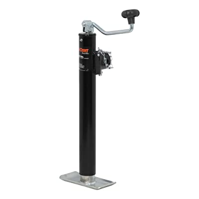 CURT 28356 Weld-On Pipe-Mount Swivel Trailer Jack, 5,000 lbs., 15 Inches Vertical Travel: Automotive