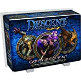 Fantasy Flight Games Descent 2nd Edition Oath of the Outcast Board Game Expansion