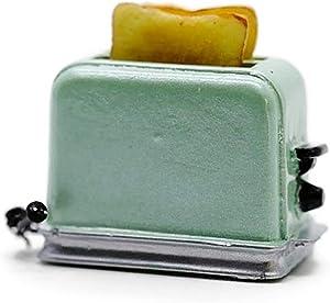 Buy Easy Green Bread Toaster Machine Dollhouse Miniatures Food Kitchen