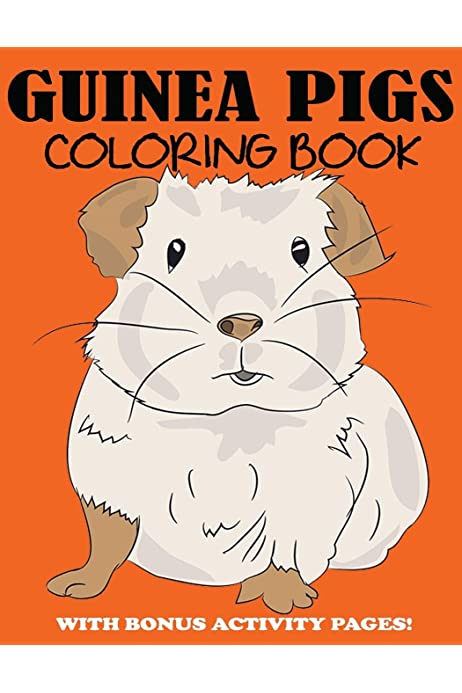 - Guinea Pigs Coloring Book: Cute Coloring Book For Kids With Bonus Activity  Pages: Blue Wave Press: 9781949651676: Amazon.com: Books
