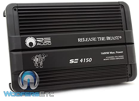 Re Audio se4150 1600 W gama completa Clase A/B 4 canales ...