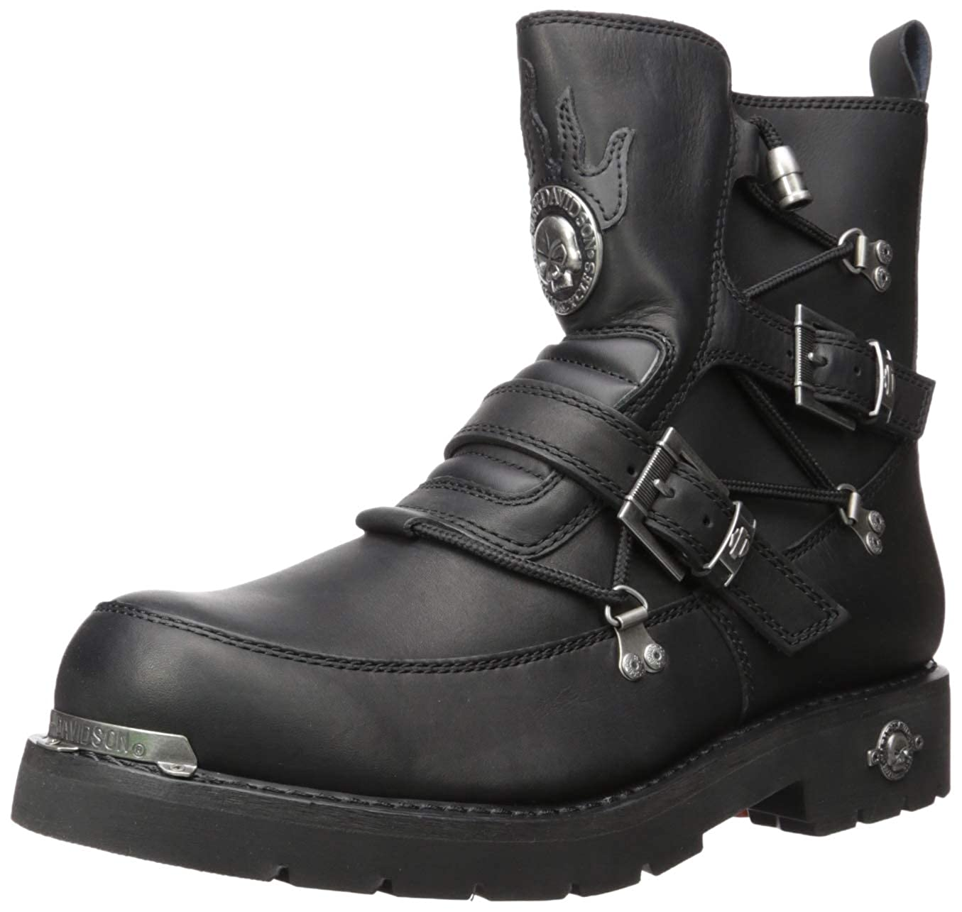 Mens Retro Shoes | Vintage Shoes & Boots Harley-Davidson Mens Distortion Boot $117.18 AT vintagedancer.com