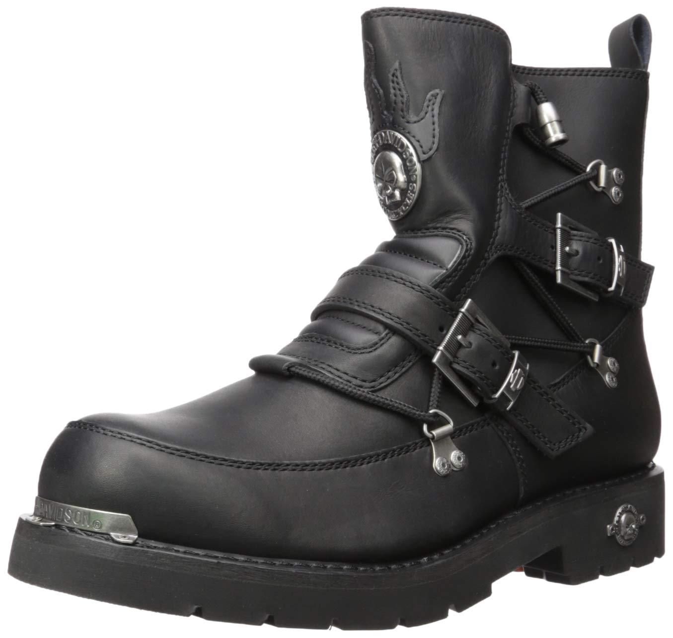 Harley-Davidson Men's Distortion Riding Boot,Black,11 W US