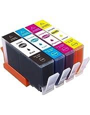 Compatible HP 564xl Ink Cartridges, 564 xl Ink Replacement for HP Photosmart 5520 6520 7520 5510 6510 7510 7525 B8550 C5380 C6380 D7560 D5460 B109a B210 Premium C309A C310 C410 Officejet 4610 4620 Deskjet 3520 Wireless B110a(4-pack)