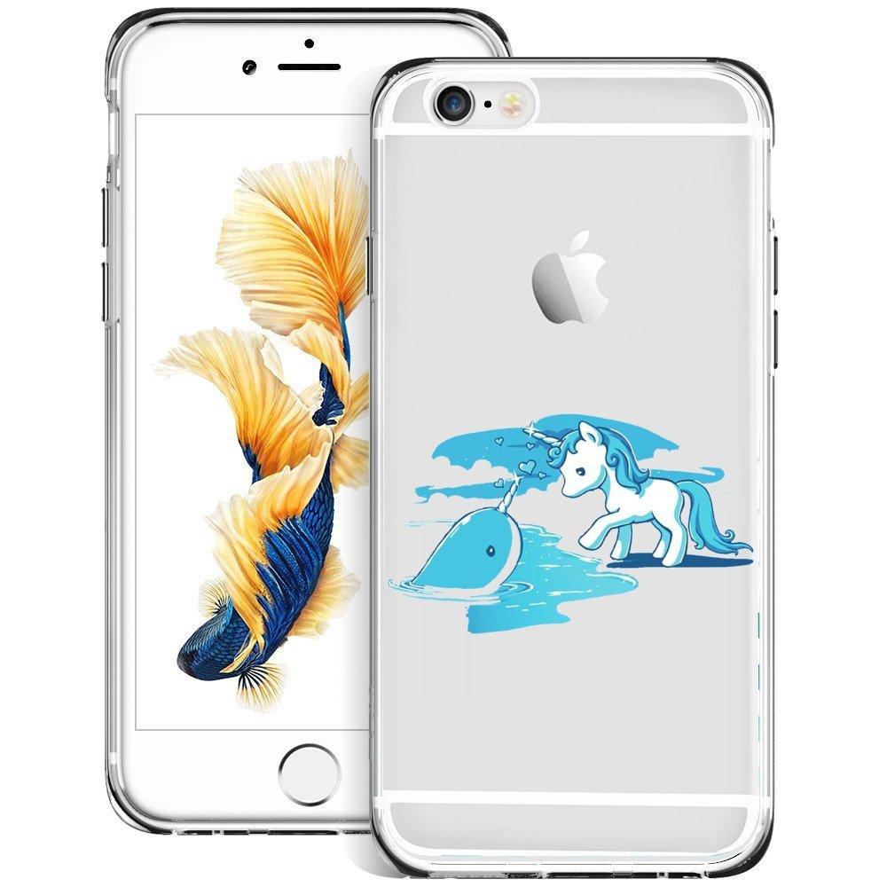 Amazon.com: Lindo Dibujos Animados Hipopótamo iPHONE 6S 6 ...