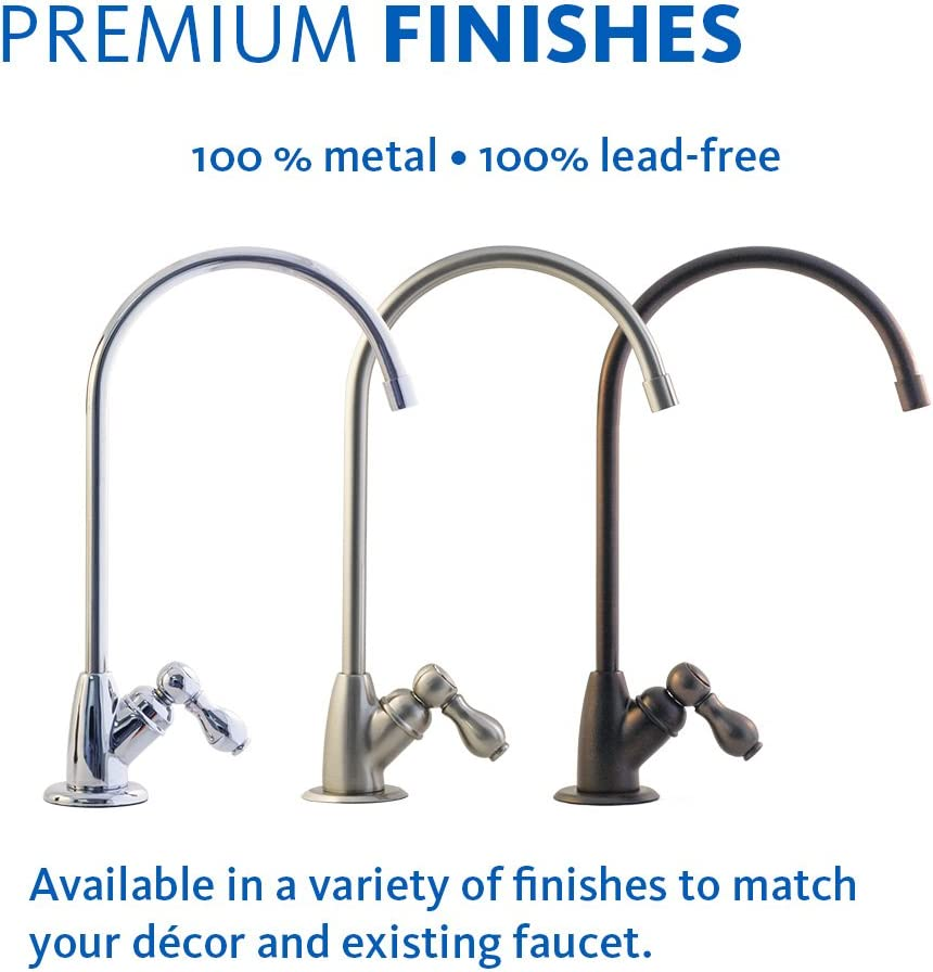 Aquasana AQ-5300 Plus Under Sink Water Filter faucet options