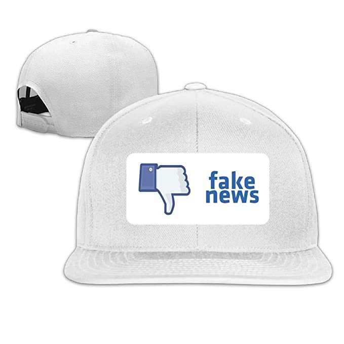 Amazon.com  Quzim Plain Logo Baseball Cap Polo Safari Dad Fake News Emoji  oppose  Clothing b0344e307f2f