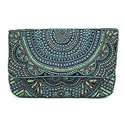 Hand Crafted Beaded Clutch